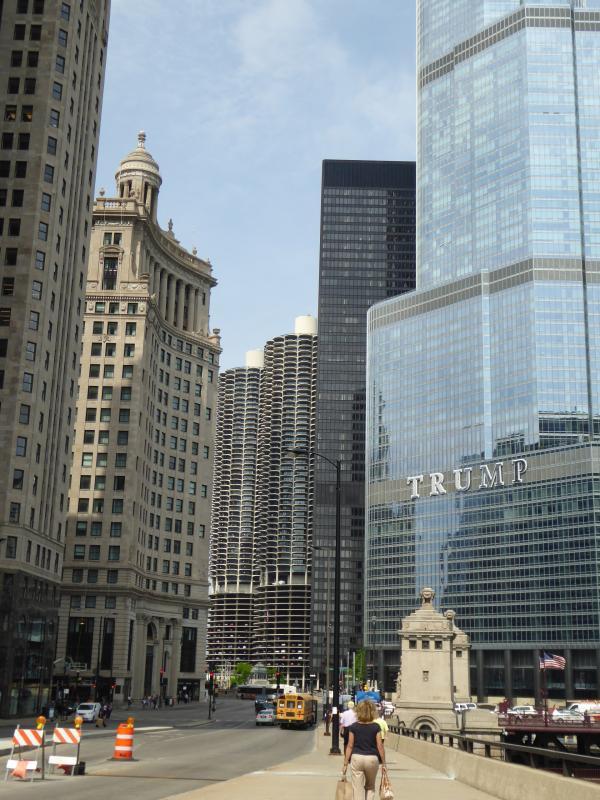 シカゴ街並み