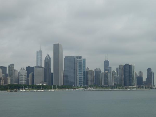 シカゴダウンタウン全景