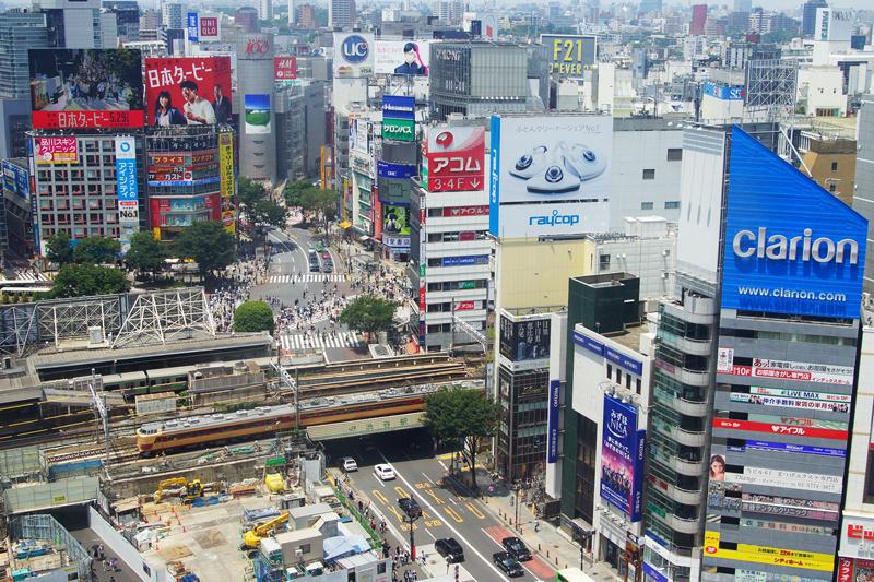 新宿~渋谷(南行)