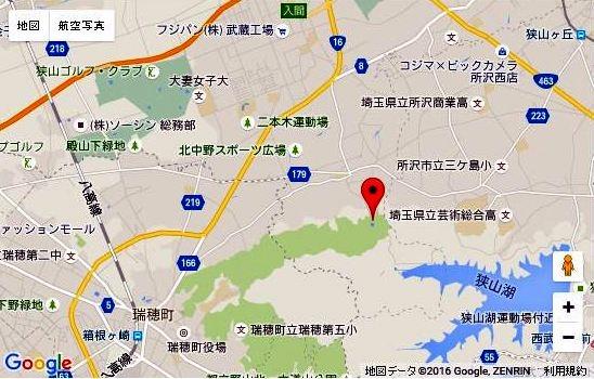 ☆さいたま緑の森博物館 地図