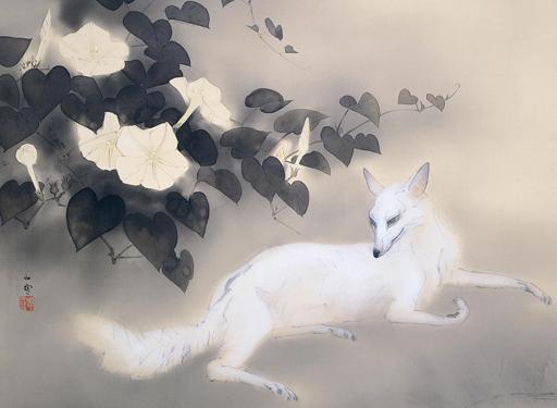 白猫 橋本関雪