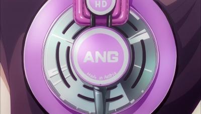 ニューゲーム 6話 ひふみ先輩 AKG ヘッドホン