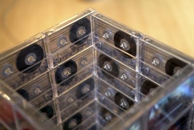 お洒落カセットテープ