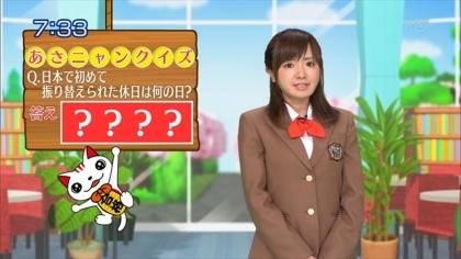 160412合格モーニング 紺野あさ美 (1)