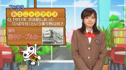 160421合格モーニング 紺野あさ美 (1)