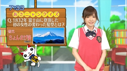 160622合格モーニング 紺野あさ美 (1)