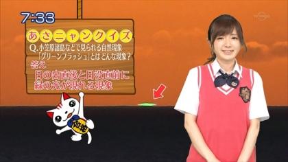 160624合格モーニング 紺野あさ美 (1)