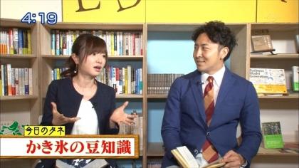 160802朝ダネ 紺野あさ美 (2)