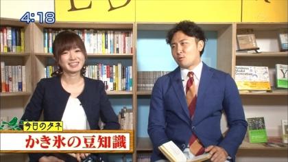 160802朝ダネ 紺野あさ美 (4)