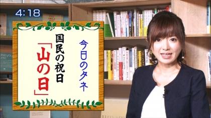 160810朝ダネ 紺野あさ美 (6)