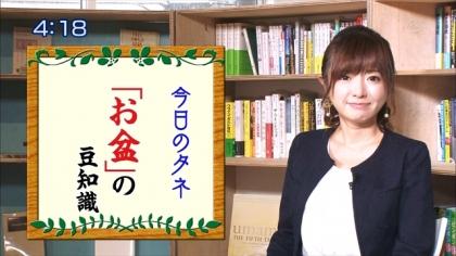 160812朝ダネ 紺野あさ美 (6)