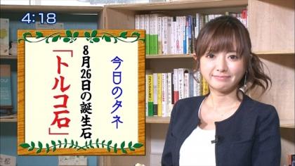 160826朝ダネ 紺野あさ美 (4)