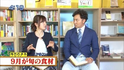 160916朝ダネ 紺野あさ美 (2)