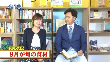 160916朝ダネ 紺野あさ美 (4)