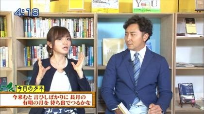 160920朝ダネ 紺野あさ美 (2)