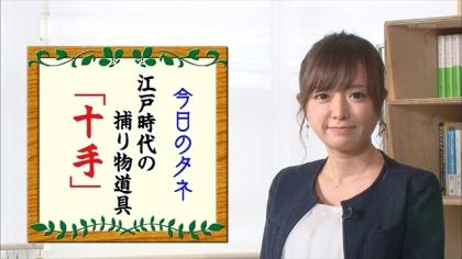 161002朝ダネ 紺野あさ美 (2)