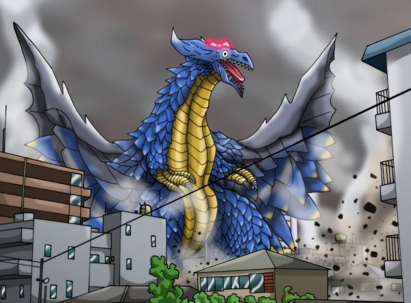 風ノ魔王獣マガバッサー!