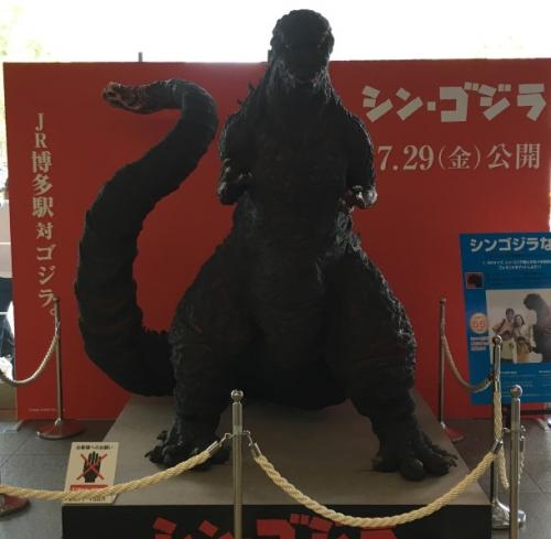 シン・ゴジラ立像 (4)