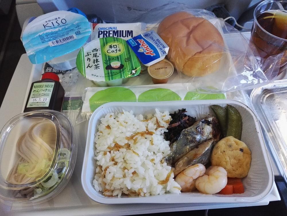 Nagoya Helsinki Finnair 名古屋 ヘルシンキ フィンエアー 機内食
