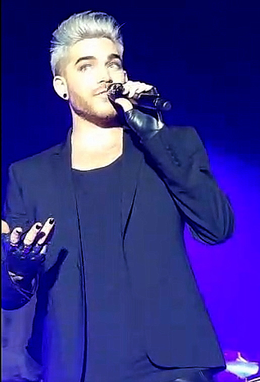Adam Lambert Stockholm TohtourPeriscope Screen shot
