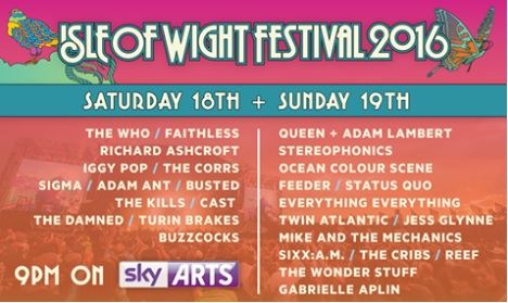 Isle of Wight Festival QAL