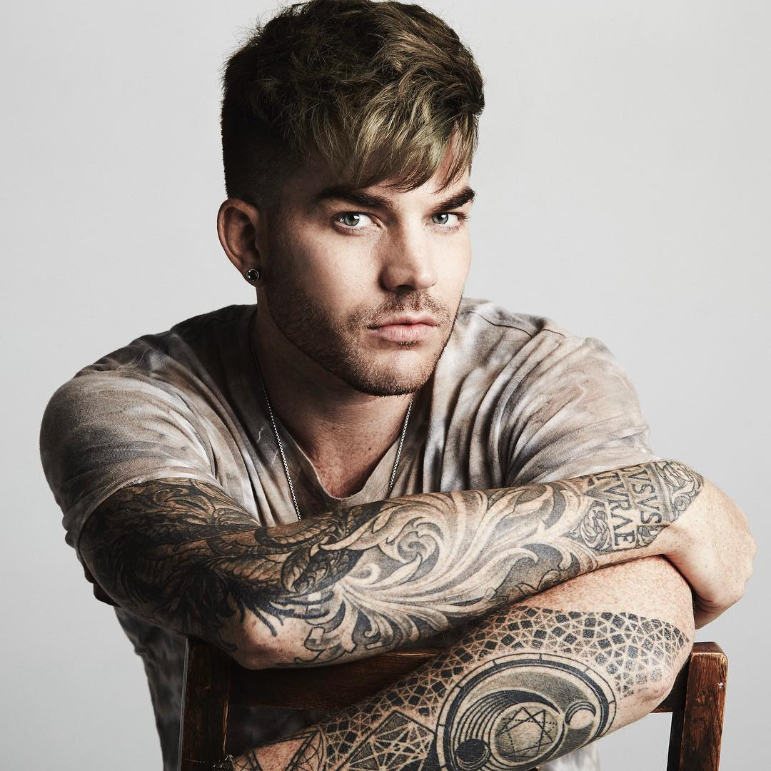 Adam Lambert Photo by Joseph Sinclair アダム・ランバート