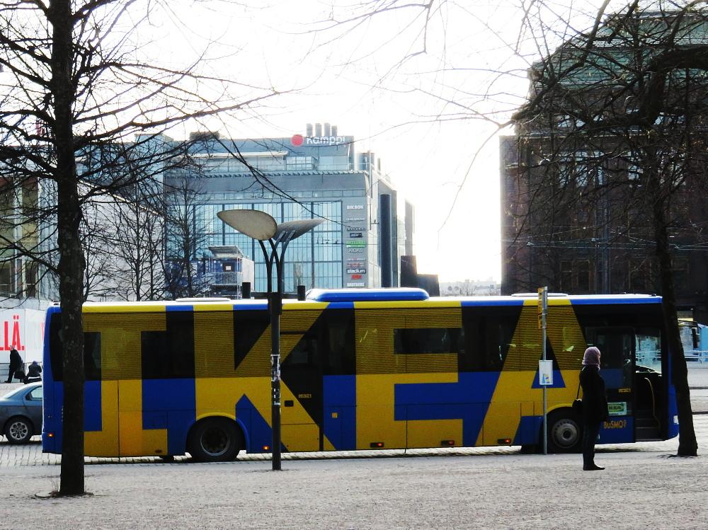 IKEA Ilmainenbussi 無料送迎バス ヘルシンキ