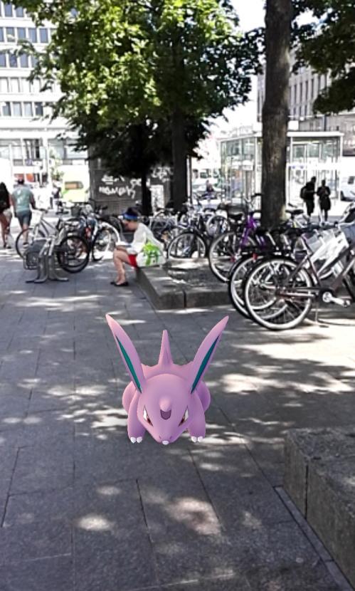 Pokemon Go ポケモンGO フィンランド ヘルシンキ