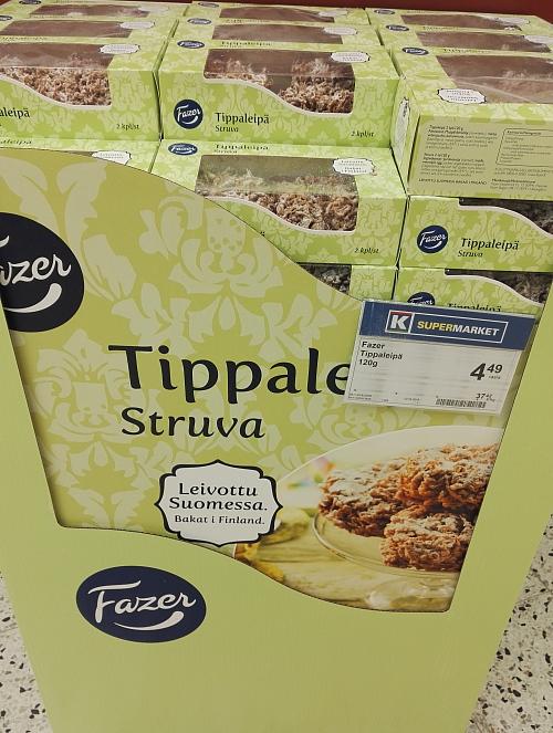 Tippaleipä ティッパレイパ メーデー 揚げ菓子 フィンランド Fazer