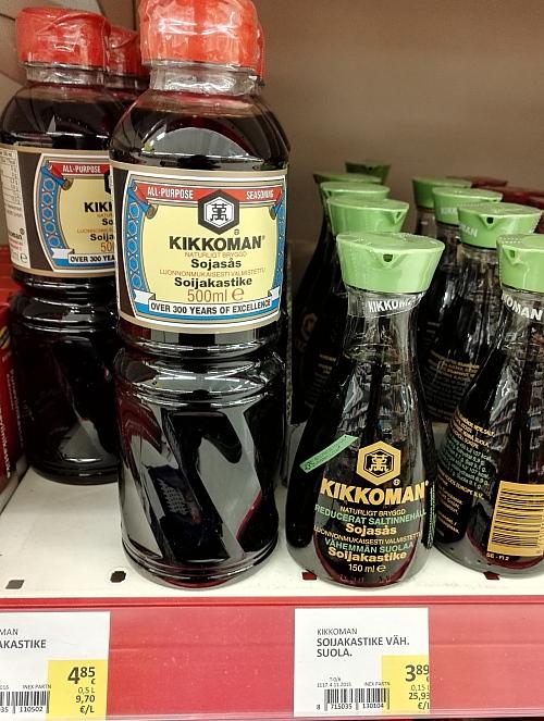 フィンランド お醤油