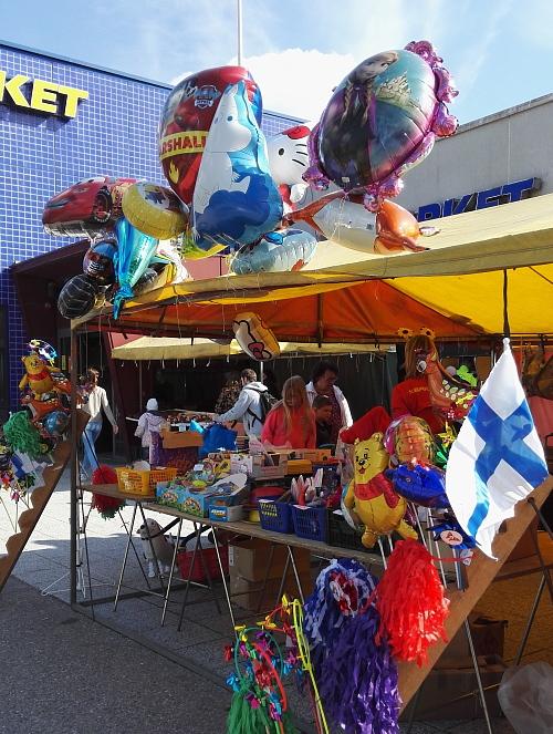 Vappu Ilmapallo メーデー フィンランド 風船