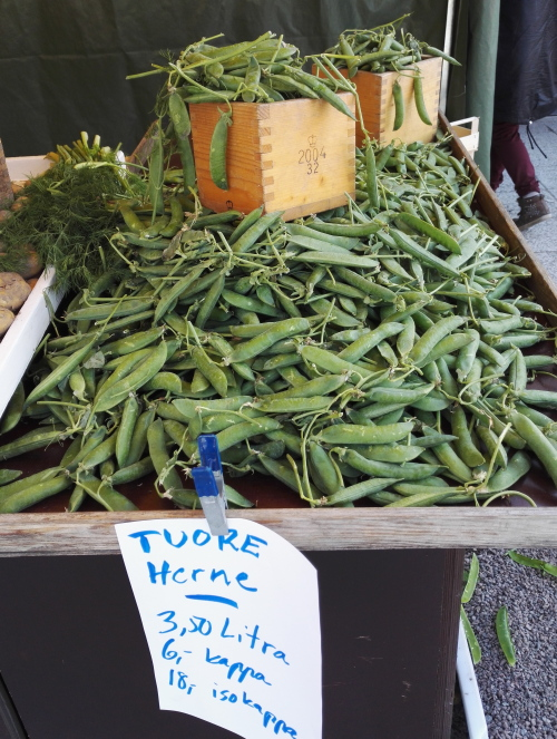Herne フィンランド 豆 グリーンピース