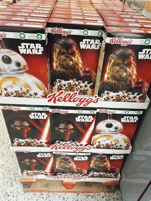 Star wars Cereal スターウォーズ シリアル フィンランド