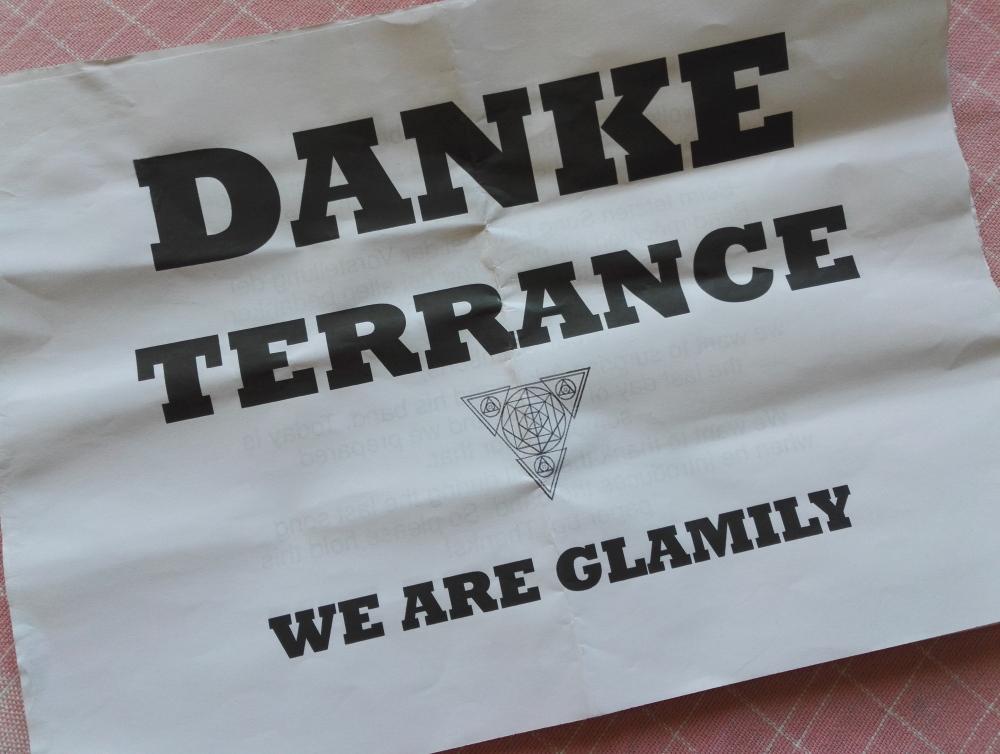 Adam Lambert Danke Terrance TOH tour Munich