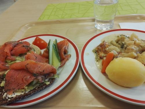 食堂 フィンランド ランチ