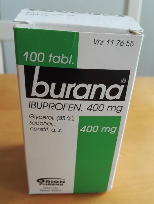 フィンランド 薬 ブラナ Burana