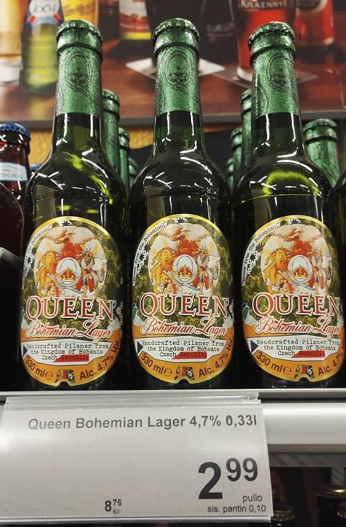 フィンランド ビール クィーン Queen Ollut