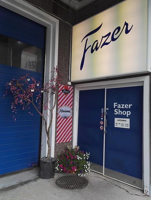 フィンランド Fazer 直売店