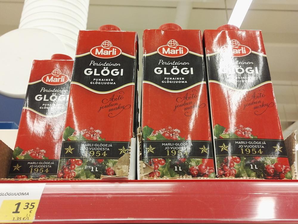 フィンランド スーパー クリスマス ホットドリンク グロギ Glögi
