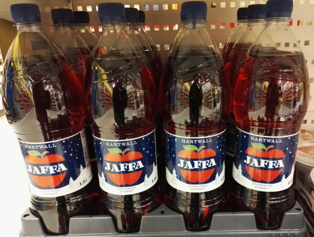 フィンランド スーパー クリスマス 炭酸ジュース Jaffa