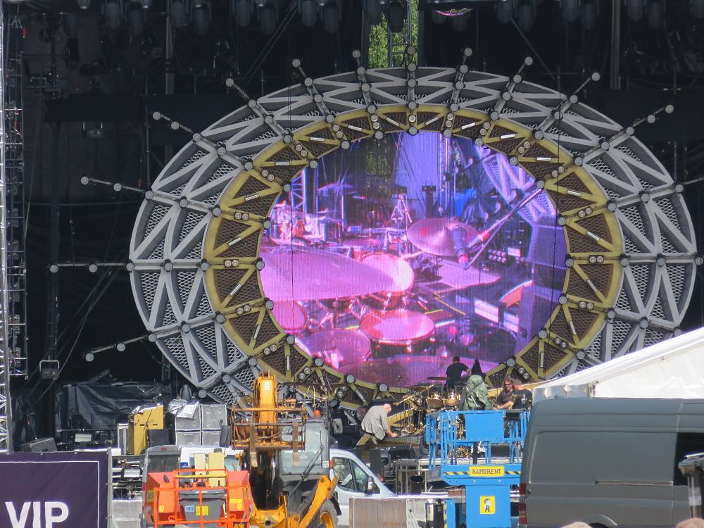 QAL Helsinki soundcheck