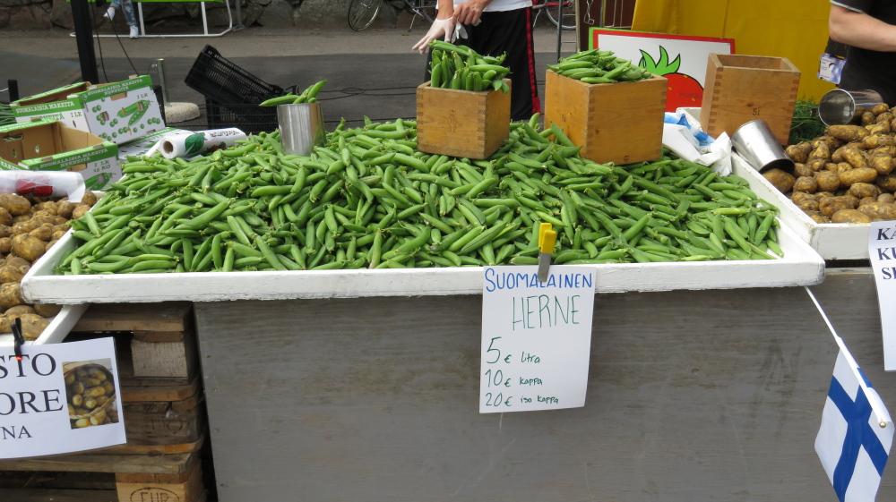 Juhannus フィンランド 夏至祭マーケット 豆