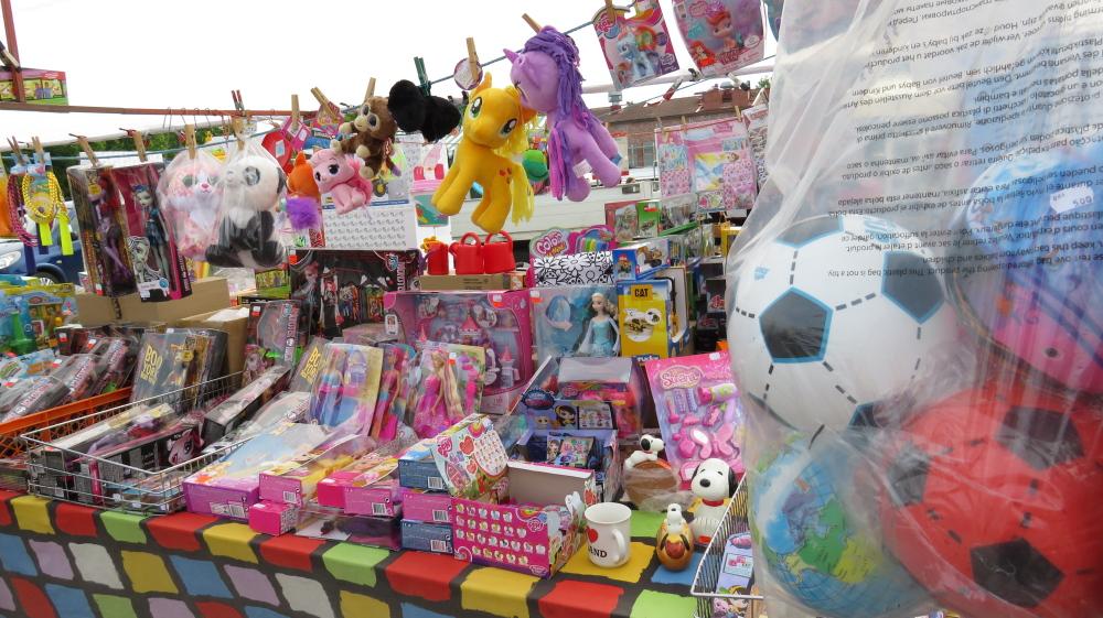 Juhannus フィンランド 夏至祭マーケット おもちゃ屋