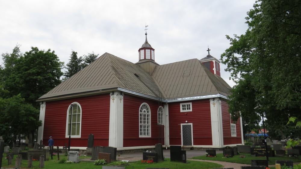 Juhannus フィンランド 夏至祭マーケット 教会