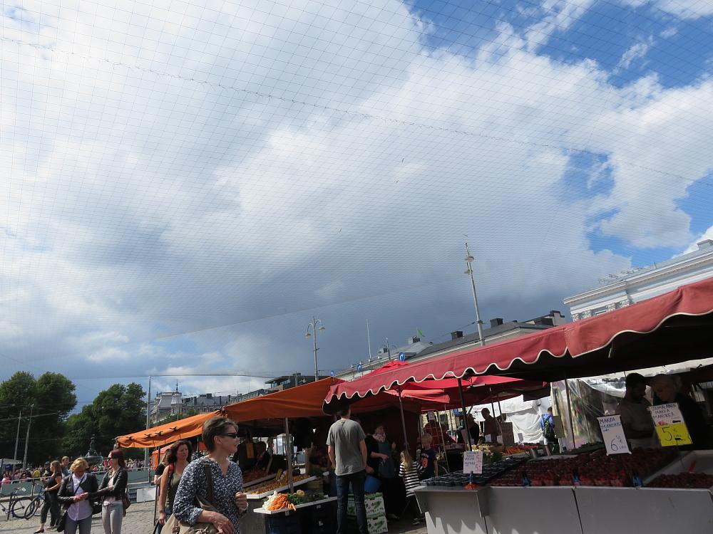 ヘルシンキ マーケット市場 Helsinki 網