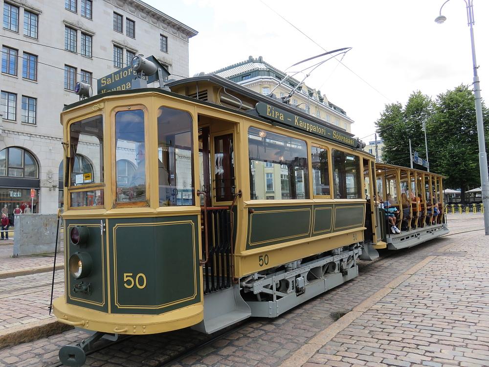 ヘルシンキ Helsinki Raitiovaunu トラム レトロ 路面電車