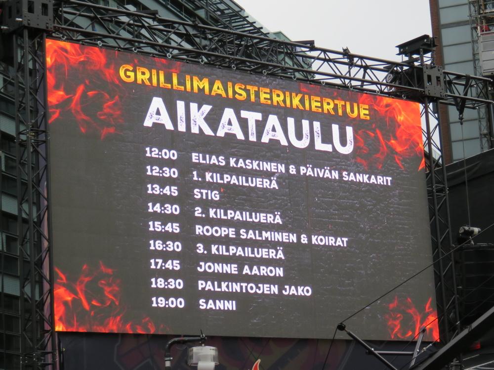 ヘルシンキ Helsinki Kamppi Lidl Grilli Maistari