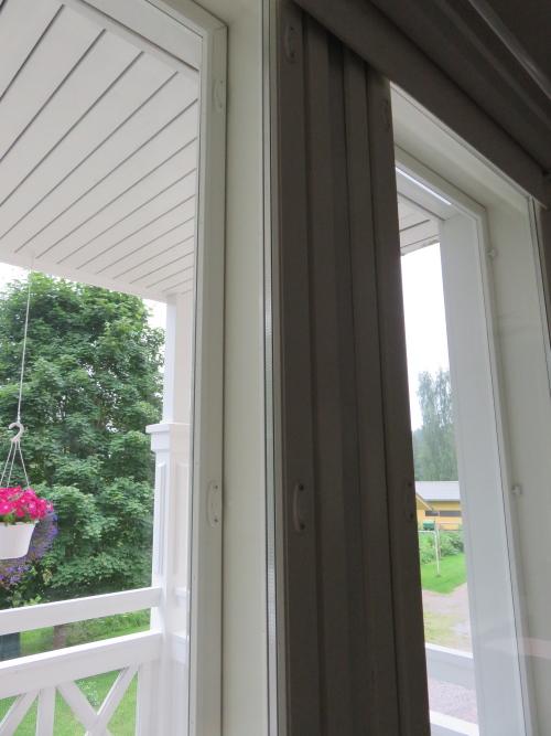 フィンランド 3重の窓ガラス