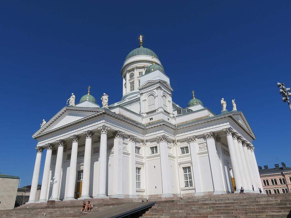 フィンランド ヘルシンキ大聖堂 Finland Tuomiokirkko