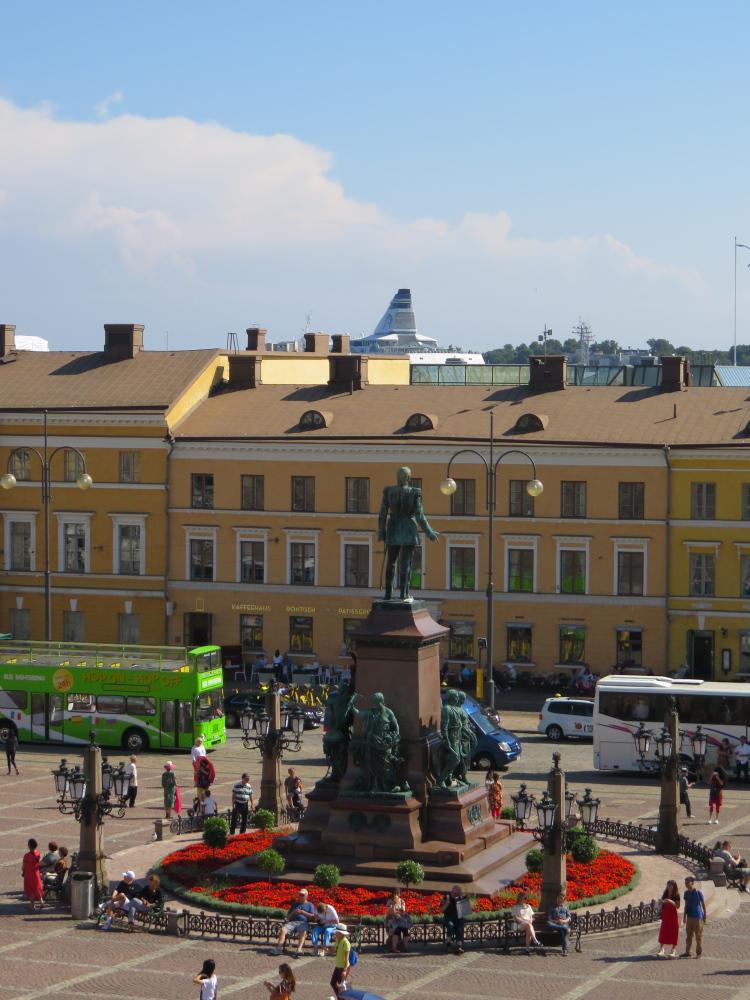 フィンランド ヘルシンキ大聖堂からの眺め